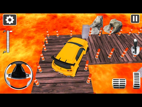 Lava Car Parking Adventure Time Games 3D 2017 - Android Gameplay FHD