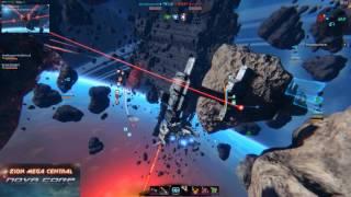 Star Conflict Nova полет с подписчиком DronD