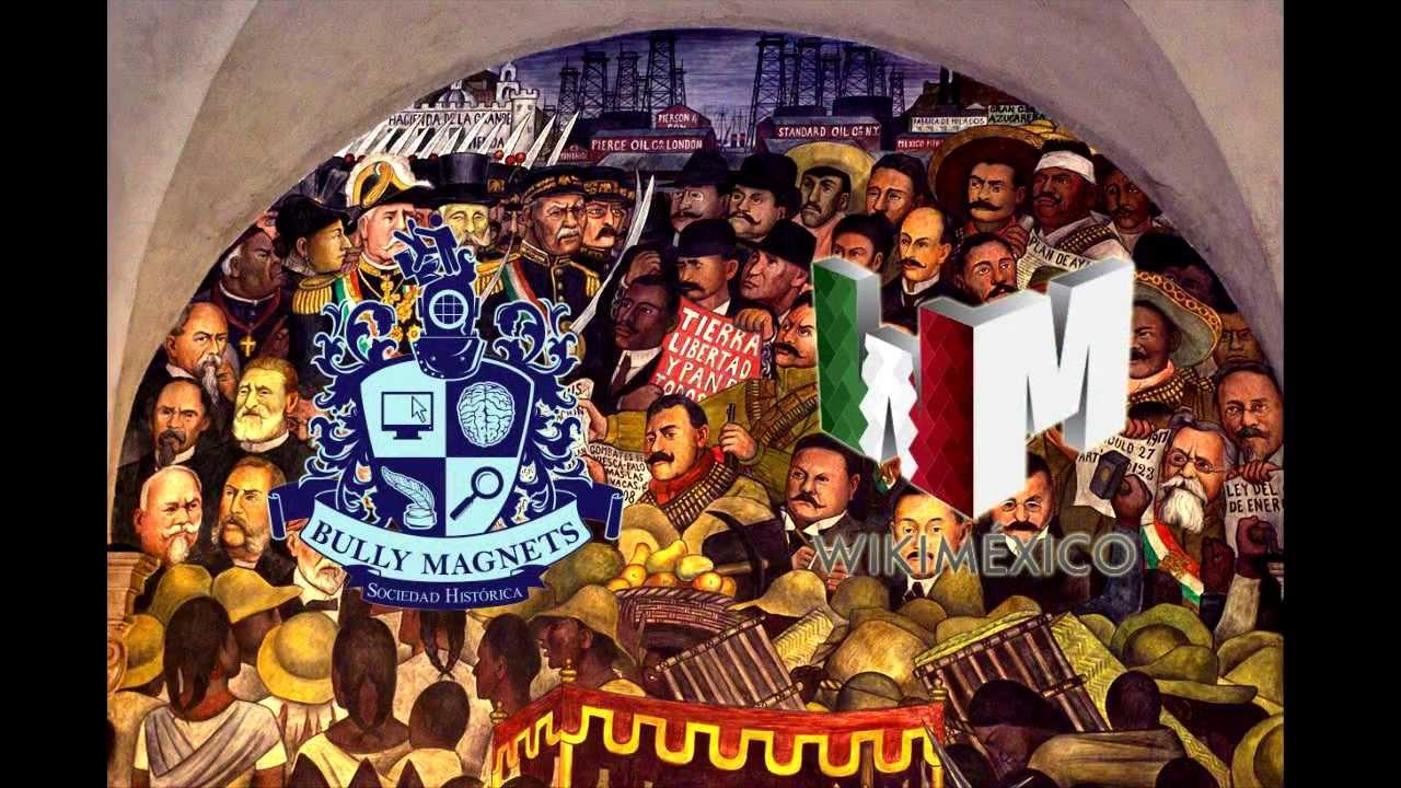mural de la revolucion mexicana en palacio nacional