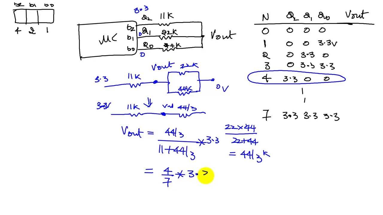 hight resolution of r 2r ladder circuit diagram