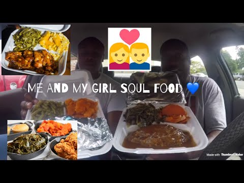 Me And My Girl Soul Food, Food Review!!! [Eating Show]