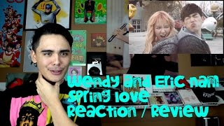 sm station wendy x eric nam spring love mv reaction review