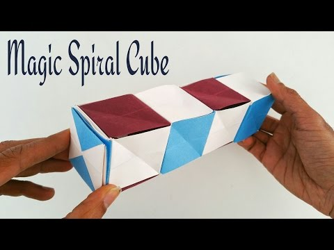 Transforming Origami Spike Ball Diagram