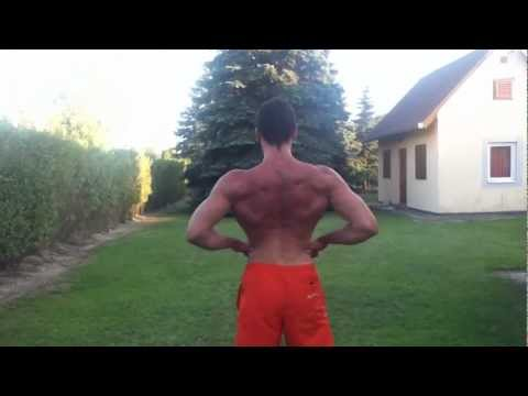 20 years old natural bodybuilder (198 cm tall)