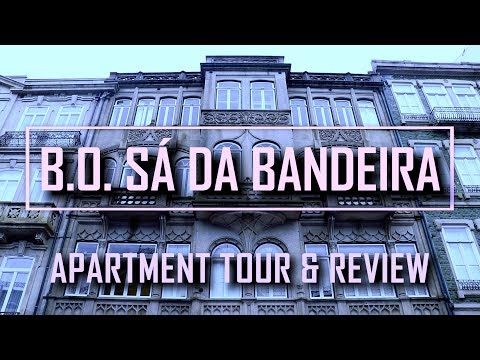 BO APARTMENT TOUR PORTO PORTUGAL PERFECT SIMPLE HOTEL IN THE CITY CENTER