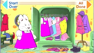 Playing Max and Ruby dress up