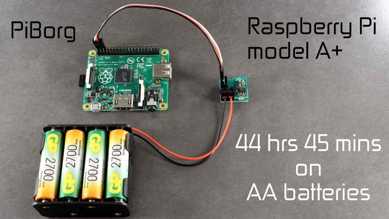 Battborg Returns Powering A Raspberry Pi A From