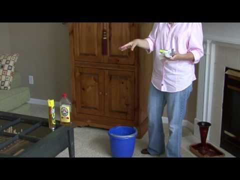 General Housekeeping : How to Clean Wood Furniture