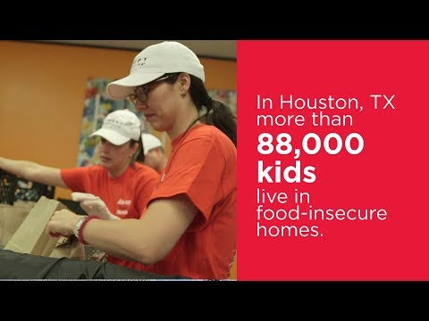 Team Honda Week of Service 2018: Group 1 Automotive and Kids' Meals