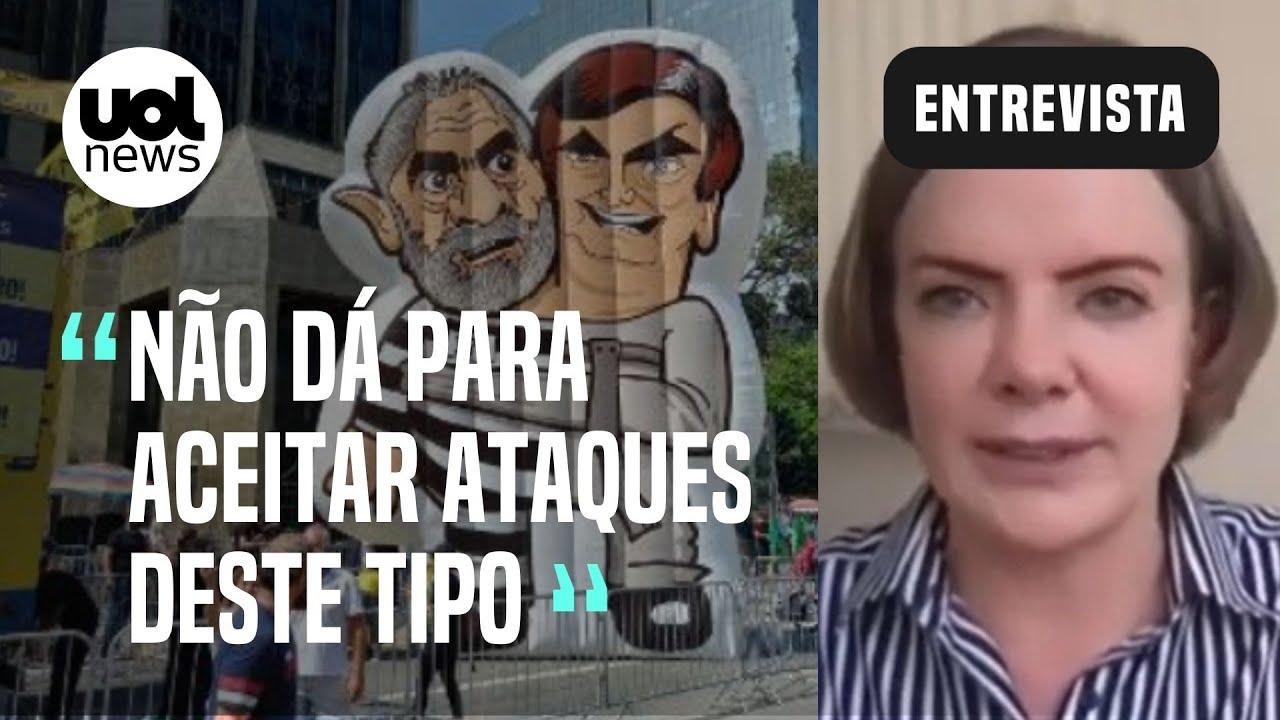 Download 'Não iremos a nenhum ato que ataque Lula e o PT', diz Gleisi Hoffmann