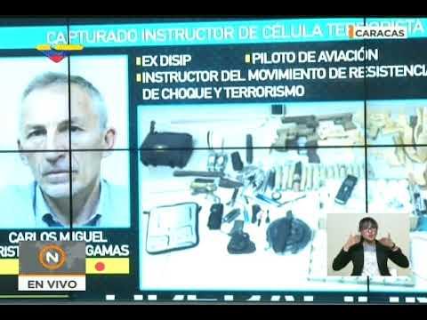 Ministro Néstor Reverol informa de Operación Gedeón II y captura de grupos desestabilizadores