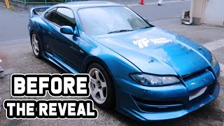 BEFORE THE REVEAL! - Working on my new S15