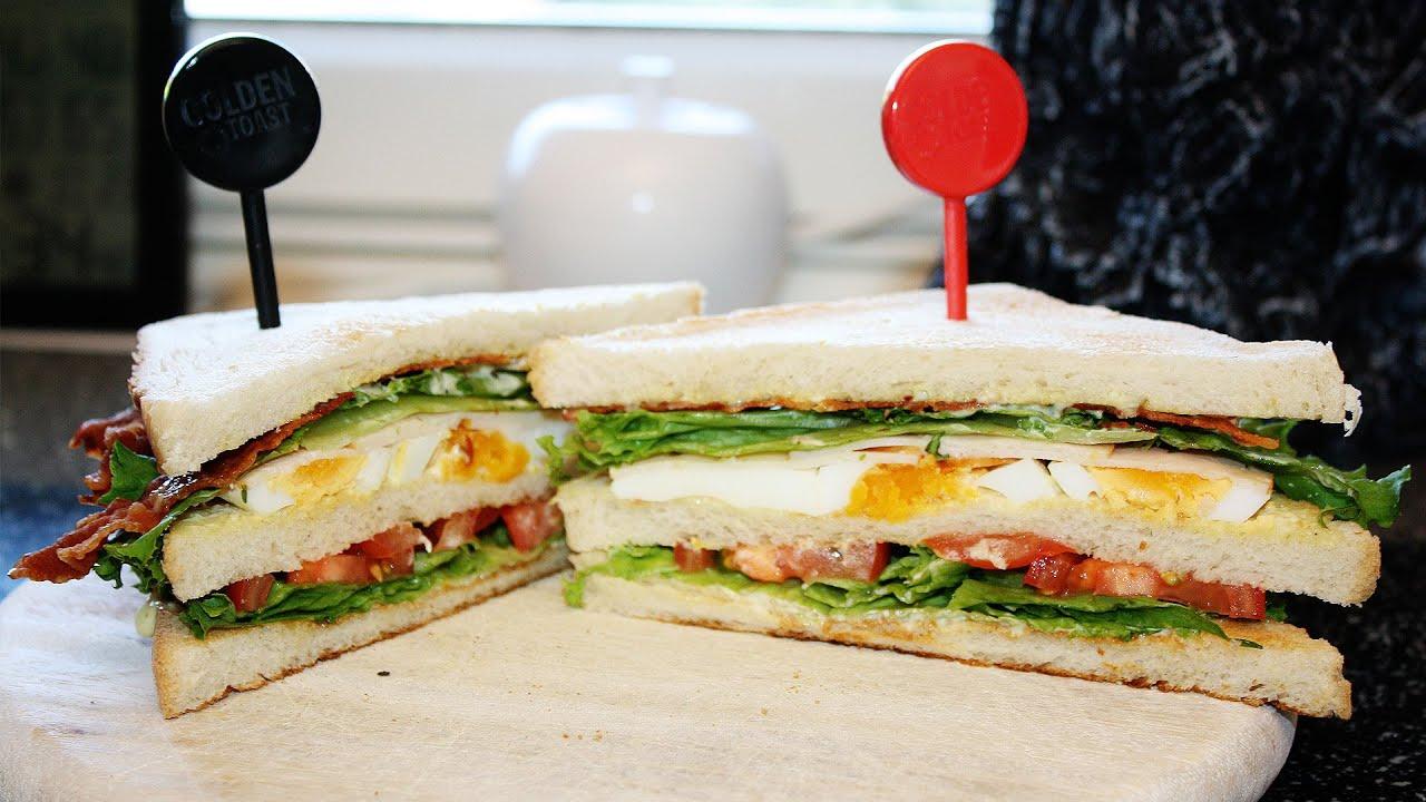 rezept em club fanwich mit golden toast american sandwich einfach und schnell selber machen. Black Bedroom Furniture Sets. Home Design Ideas