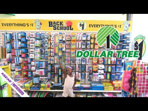 Dollar Tree Back to school Haul  2019✏️🎒School Supplies 🤗