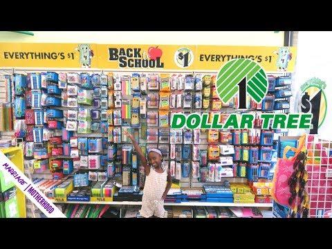 Dollar Tree Back To School Haul  2019✏️🎒School Supplies 🤗