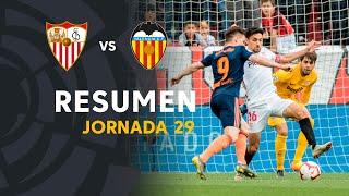 Resumen de Sevilla FC vs Valencia CF (0-1)