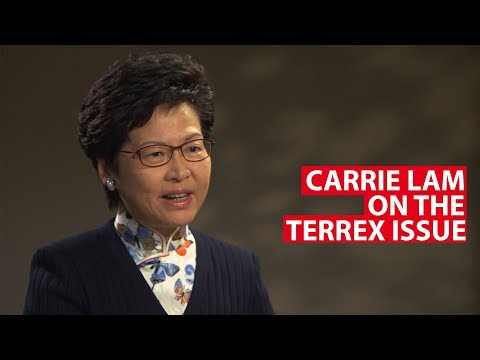 Carrie Lam on the Terrex Issue | Conversation With | CNA  Insider