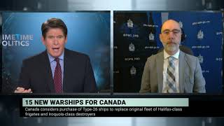 Parliamentary Budget Officer on Canada's 15 new warships