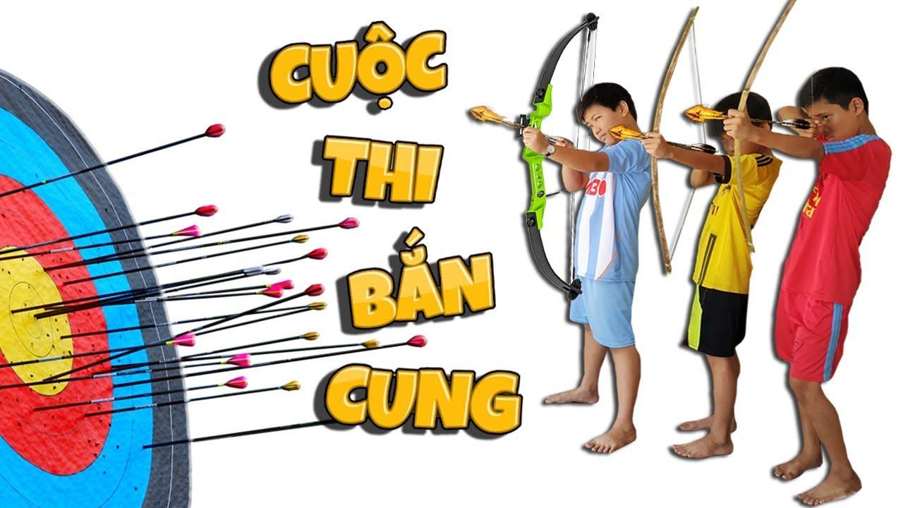 Tony | Trẻ Trâu Bắn Cung Ăn Siêu Nhân Chó – Archery Battle