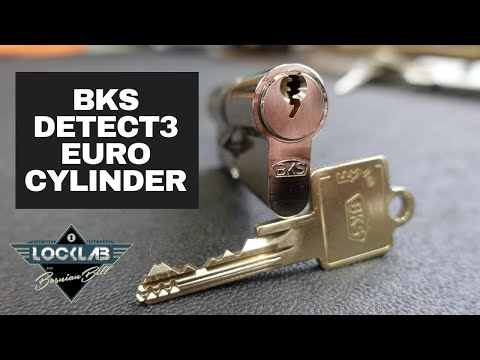 Взлом отмычками BKS Detect3  BKS Detect3 Picked & Gutted ()