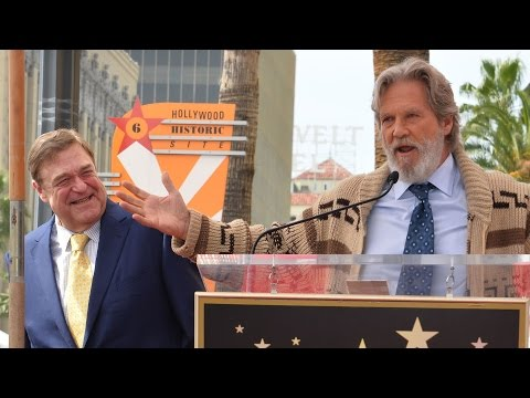 Jeff Bridges channels 'The Dude' to honor his Big Lebowski co-star John Goodman