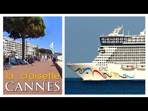 Promenade de la Croisette, Cannes | Norwegian Epic tours | Sony AS300