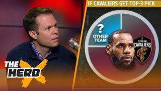 Colin and Lee Jenkins on how the Cavs could keep LeBron with a top-3 lottery pick | NBA | THE HERD