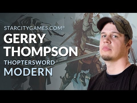 Modern: ThopterSword with Gerry Thompson - Round 1