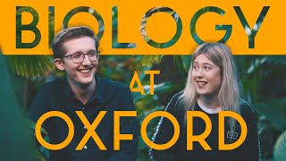 Biology at Oxford
