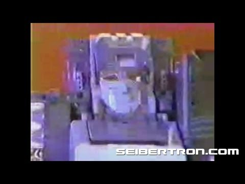 Transformers G1 Fortress Maximus vs Abominus 1987 toy commercial