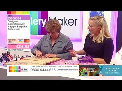 How to make Bridal Jewellery - JewelleryMaker DI 8/9/14