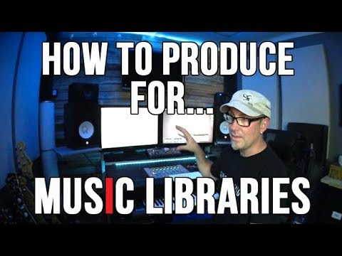 MUSIC LIBRARY SUBMISSION TIPS