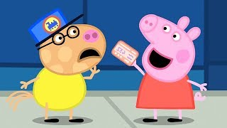 Свинка Пеппа на русском все серии подряд 🚂 Поездка на поезде ⭐️ Свинка Пеппа 2019 ⭐️ Мультики