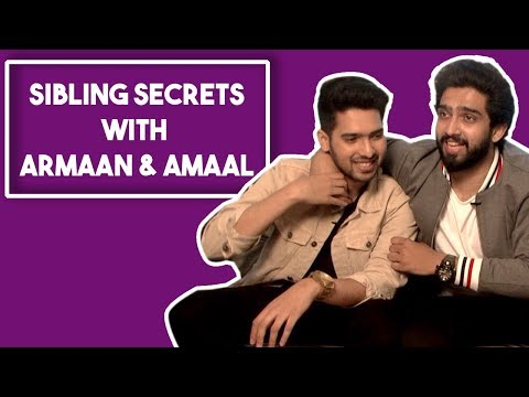 Armaan Malik And Amaal Malik Reveal Each Other's Secrets In The Sibling's Secrets Game | POP Diaries