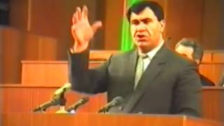 Daxili İşlər naziri Tahir Əliyevin Milli Məclisdə çıxışı 1992 ci il (ixtisarla)