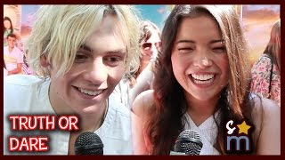 TRUTH or DARE? w/ TEEN BEACH 2 Cast - Embarrassing Moments, Impressions