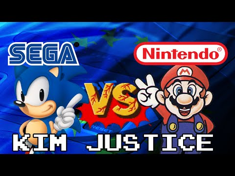 The Sega vs Nintendo War:  A Very European/UK Perspective (Over 100 Games!) - Kim Justice