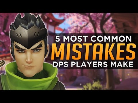 Overwatch: Top 5 Mistakes DPS Players Make