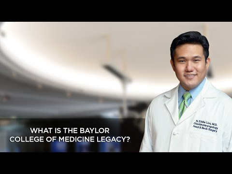 What is the Baylor College of Medicine Legacy?