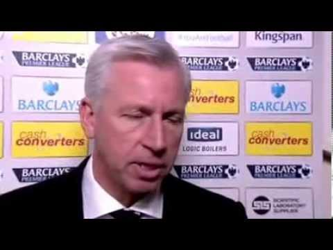 Hull City vs Newcastle United 1-4 : Alan Pardew apologises for headbutt