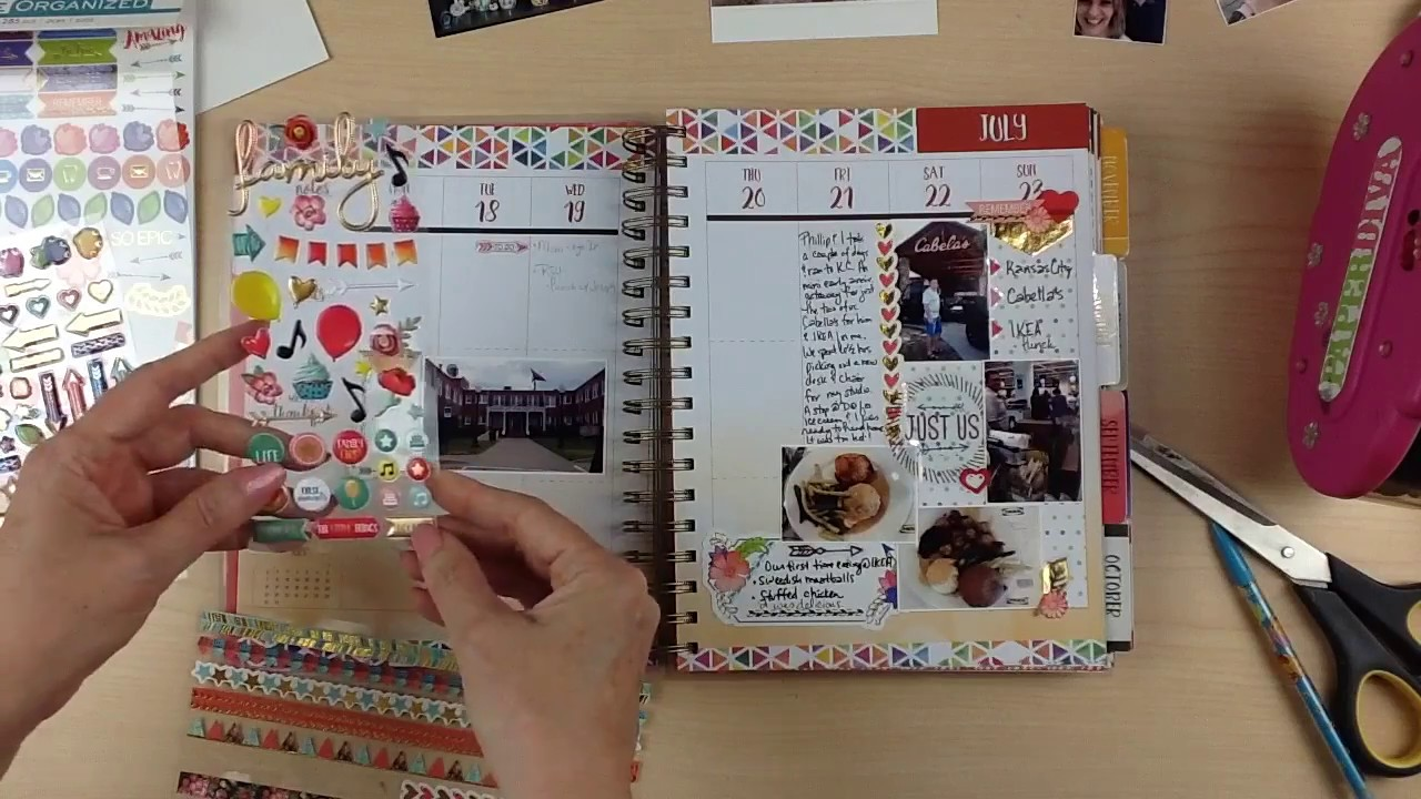 Scrapbook Process 195 Memory Planner Paper House Productions
