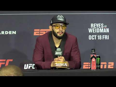 UFC Boston Post-Fight