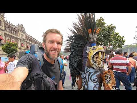 Walking Through the Crazy Streets of Mexico City