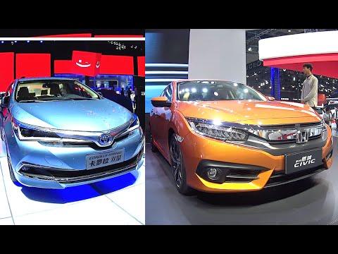 2016, 2017 Honda Civic RS, Turbo VS 2016, 2017 Toyota Corolla Hybrid