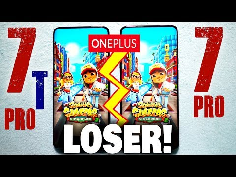 OnePlus 7T Pro vs OnePlus 7 Pro    Speed Test    One Is A Big Loser! Watch Till END!
