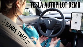 Tesla Model 3 ♥ Autopilot Demo & Review
