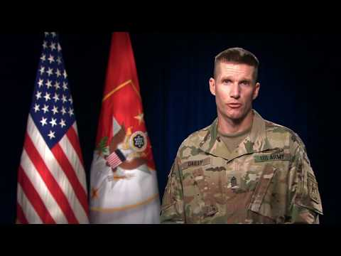 SMA Daniel A. Dailey's speech to the 2nd Infantry Division