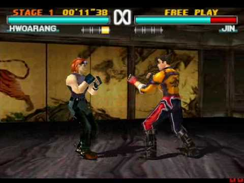 Loks222 Old Game Tekken 3 Hwoarang Vs Jin By Paulina