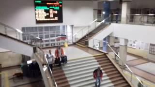 На поезде по России! Уфа. ж\д вокзал