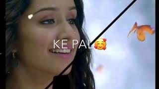 Kisi Shaayar Ki Ghazal - BANJARE - True Love - Romantic - Lyrics Status Video